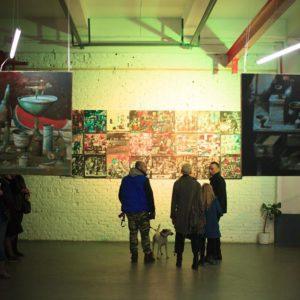 18.03 — 23.03 / Показ-выставка работ Сергея Селецкого